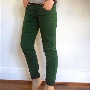 Desigual green trousers, size 28 (AU 8)